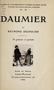Cover of: Daumier