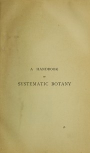 Cover of: A handbook of systematic botany