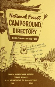 National Forest campground directory