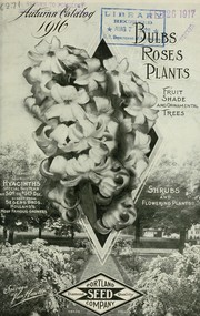 Cover of: Portland Seed Company's autumn catalog [of] trees, roses, bulbs, plants