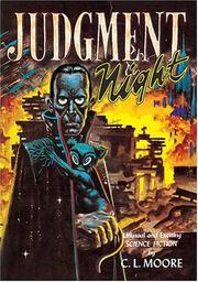 Cover of: Judgment Night | C. L. Moore