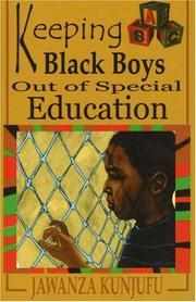 Cover of: Keeping Black Boys Out of Special Education