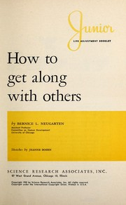 Cover of: How to get along with others