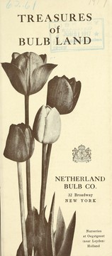 Cover of: Treasures of bulb land | Netherland Bulb Company