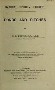 Cover of: Ponds and ditches | M. C. Cooke