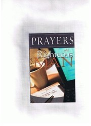 Cover of: Prayers of a Righteous Man | Unknown