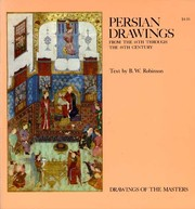 Cover of: Persian drawings from the 14th through the 19th century
