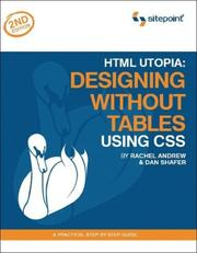 Cover of: HTML Utopia