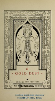 Cover of: Gold dust