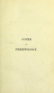 Cover of: A system of phrenology