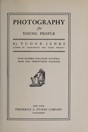 Cover of: Photography for young people | Tudor Jenks