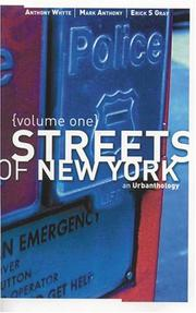 Cover of: Streets of New York, Vol. 1 | Anthony Mark