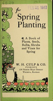 Cover of: For spring planting | W.H. Culp & Co