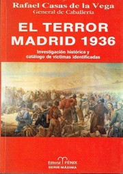 Cover of: El terror: Madrid 1936
