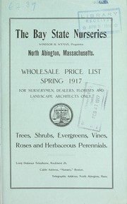 Cover of: Wholesale price list