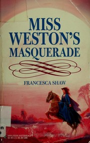 Cover of: Miss Weston's Masquerade