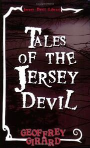 Cover of: Tales of the Jersey Devil | Geoffrey Girard