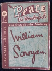 Cover of: Peace, it's wonderful