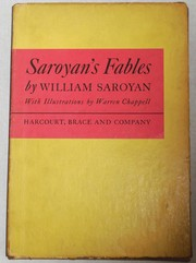 Cover of: Saroyan's fables