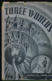 Cover of: Three Worlds: Hairenik 1934-1939