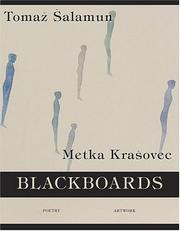 Cover of: Blackboards (Poet/Artist Collaboration) | Tomaz Salamun