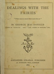 Cover of: Dealings with the fairies | George MacDonald