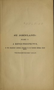 Cover of: St. Johnland