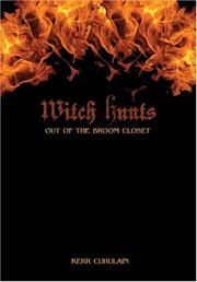 Cover of: Witch Hunts: Out of The Broom Closet