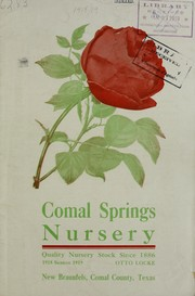 Comal Springs Nursery by Comal Springs Nursery