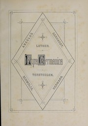 Cover of: Lyra Germanica