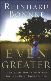 Cover of: Even Greater