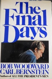 Cover of: The final days | Bob Woodward