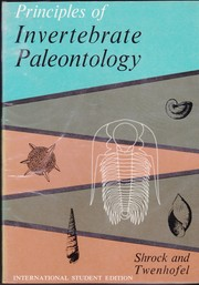 Cover of: Invertebrate paleontology
