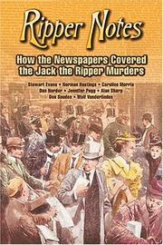 Cover of: Ripper Notes | Dan Norder