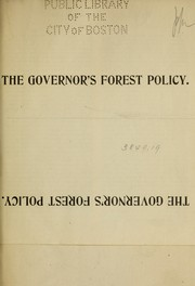 Cover of: The Governor