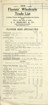 Cover of: 1919 florists