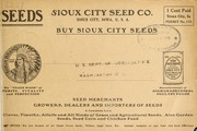 Cover of: Buy Sioux City seeds | Sioux City Seed and Nursery Co