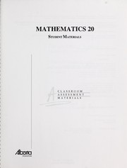 Cover of: Mathematics 20 | Education Advantage (Firm)