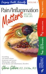 Cover of: Pain/Inflammation Matters | Gloria Gilbere