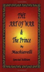 Cover of: The Art of War & The Prince by Machiavelli