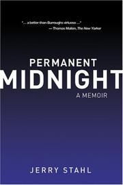 Cover of: Permanent Midnight | Jerry Stahl