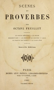 Cover of: Sce  nes et proverbs