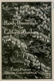 Cover of: Hardy perennial plants