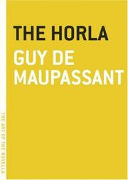 Cover of: The horla