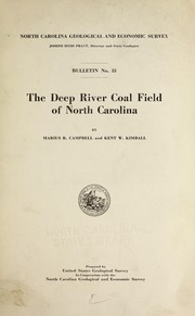 Cover of: Discharge records of North Carolina streams, 1889-1923