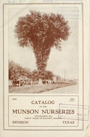 Cover of: Catalog of the Munson Nurseries | T.V. Munson & Son Nurseries