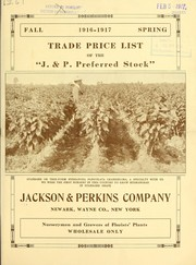 "Cover of: Trade price list of the ""J. & P. preferred stock"""