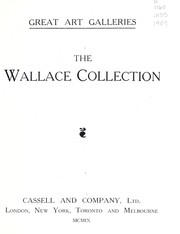 Cover of: The Wallace collection