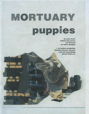 Cover of: Mortuary Puppies