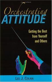 Cover of: Orchestrating attitude